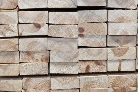 Stock Timber Planed
